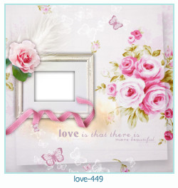 love Photo Frame 449