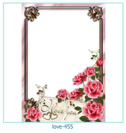 love Photo frame 455