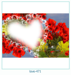 love Photo frame 471