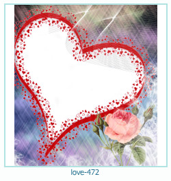 love Photo frame 472