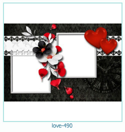 love Photo Frame 490