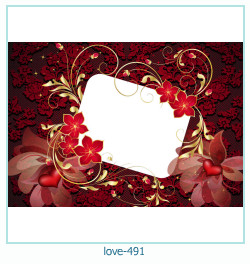love Photo frame 491