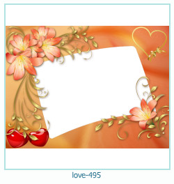 love Photo frame 495