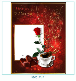 love Photo frame 497