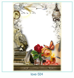 love Photo Frame 504