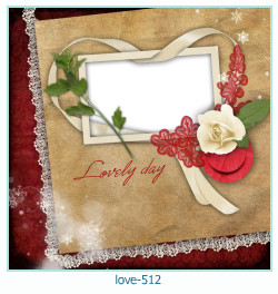 love Photo frame 512