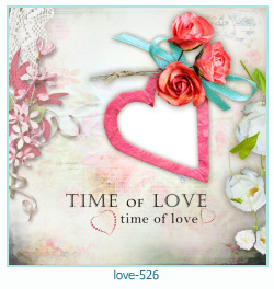 love Photo Frame 526