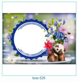 love Photo frame 529