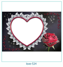 love Photo Frame 534