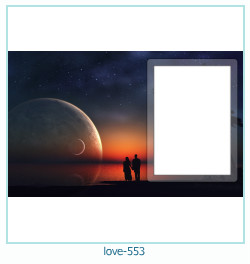 love Photo frame 553