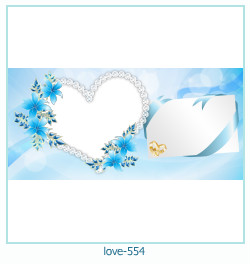 love Photo frame 554