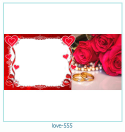 love Photo frame 555