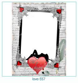 love Photo frame 557
