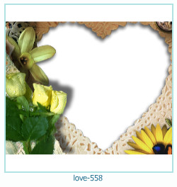 love Photo Frame 558