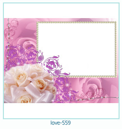 love Photo frame 559