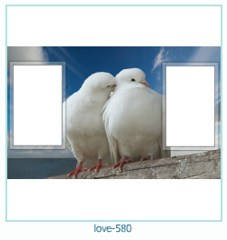love Photo frame 580