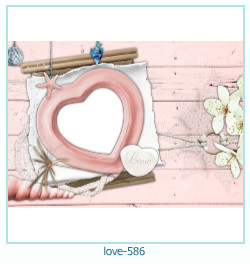 love Photo frame 586