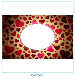love Photo Frame 590