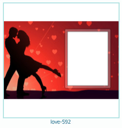 love Photo frame 592