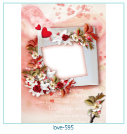 love Photo frame 595