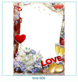 love Photo Frame 606