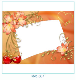 love Photo Frame 607