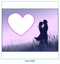 love Photo Frame 608