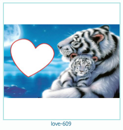 love Photo Frame 609