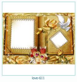 love Photo frame 611