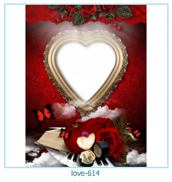 love Photo Frame 614