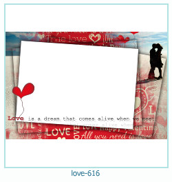 love Photo Frame 616