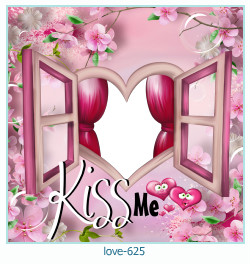love Photo frame 625