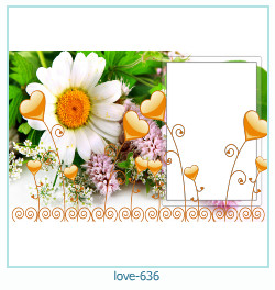 love Photo Frame 636