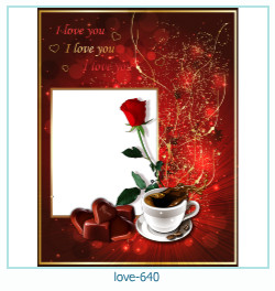 love Photo frame 640