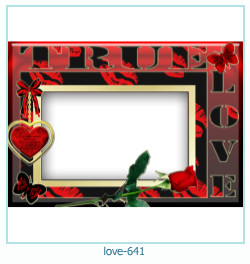 love Photo Frame 641