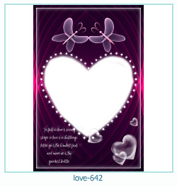 love Photo Frame 642