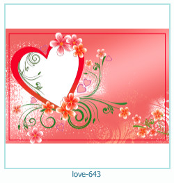 love Photo Frame 643