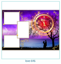 love Photo Frame 646