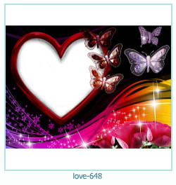 love Photo frame 648