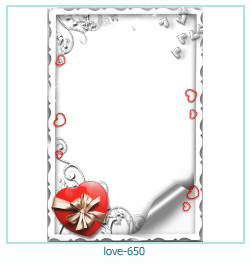 love Photo frame 650