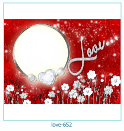 love Photo Frame 652