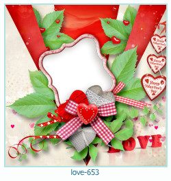 love Photo Frame 653