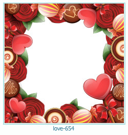 love Photo Frame 654