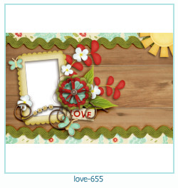 love Photo frame 655