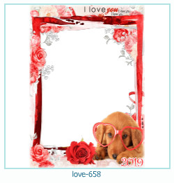 love Photo frame 658
