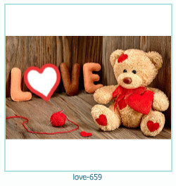 love Photo Frame 659