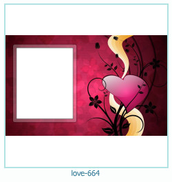 love Photo Frame 664