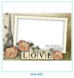love Photo frame 665