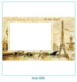 love Photo frame 666