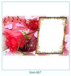 love Photo frame 667